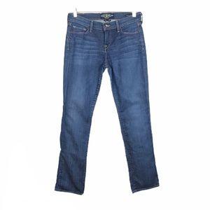 Lucky Brand Sophia Straight Dark Wash Stretch Jean